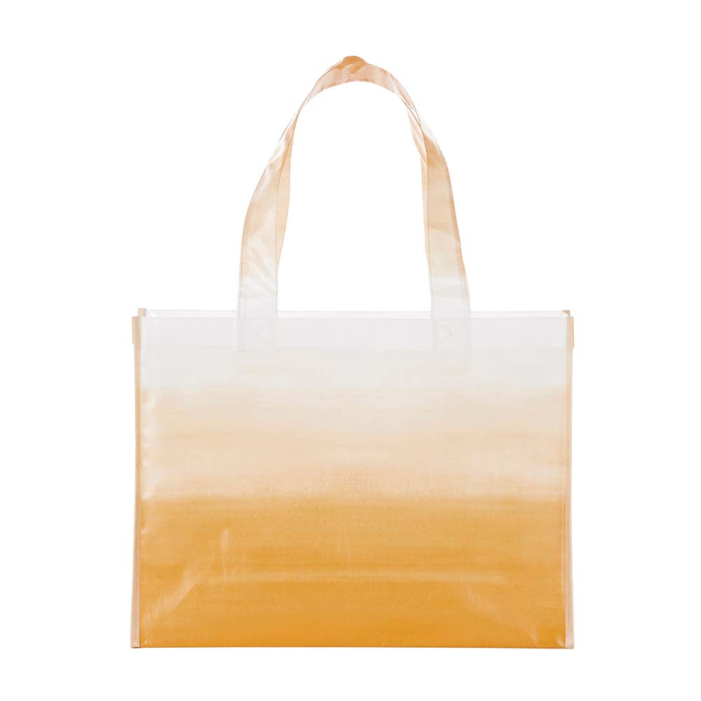Watercolor amber tote