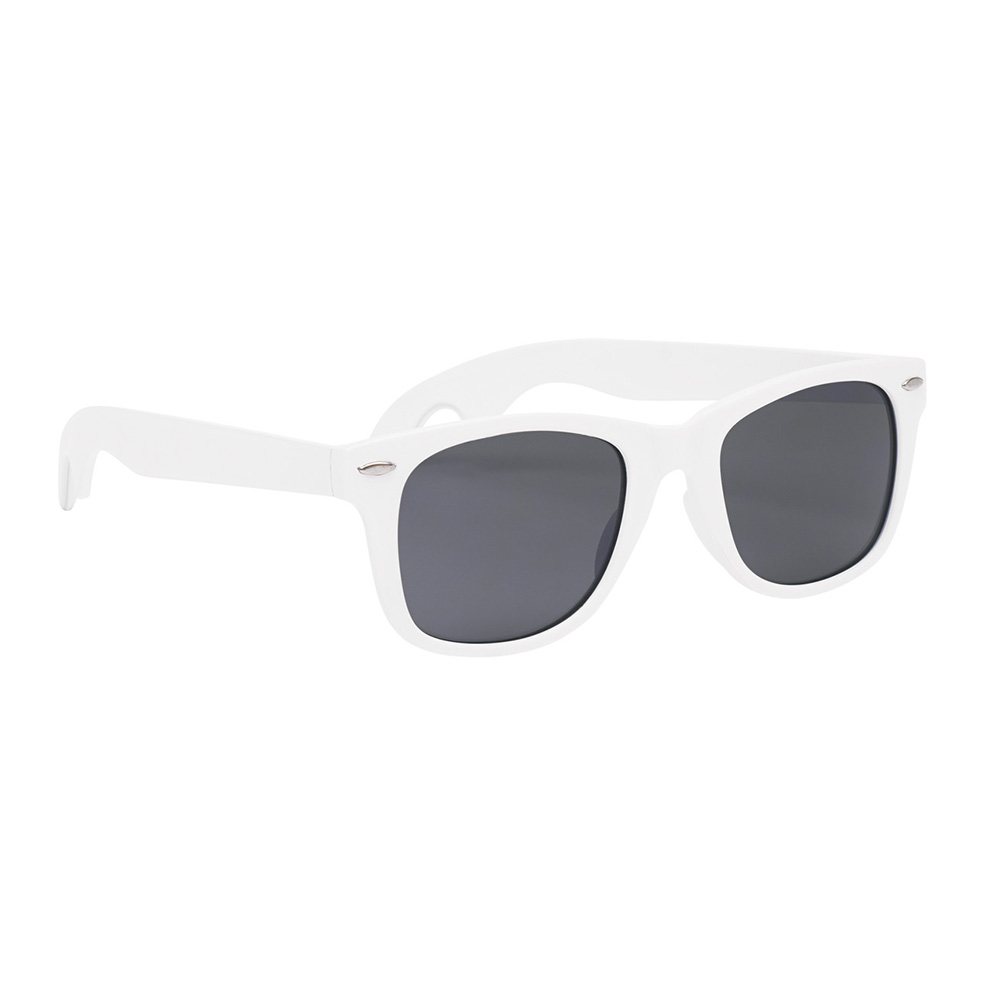 White classic opener sunglasses