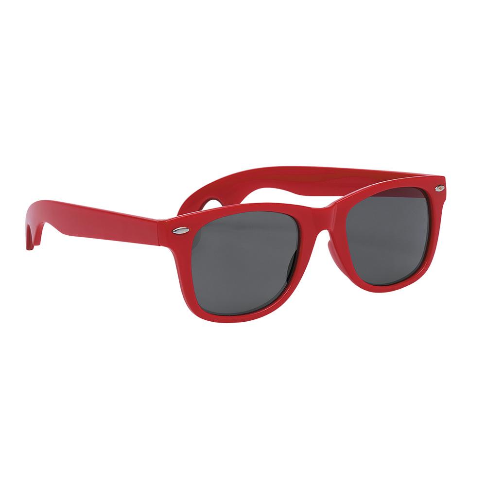 Red classic opener sunglasses