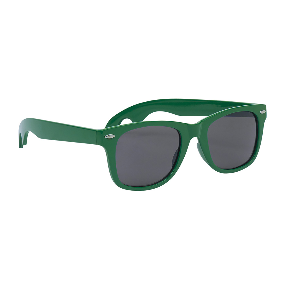 Green classic opener sunglasses