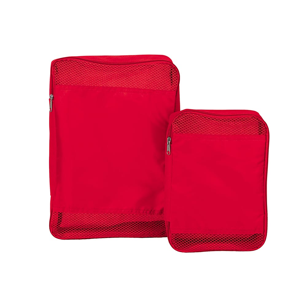 Packing cubes red