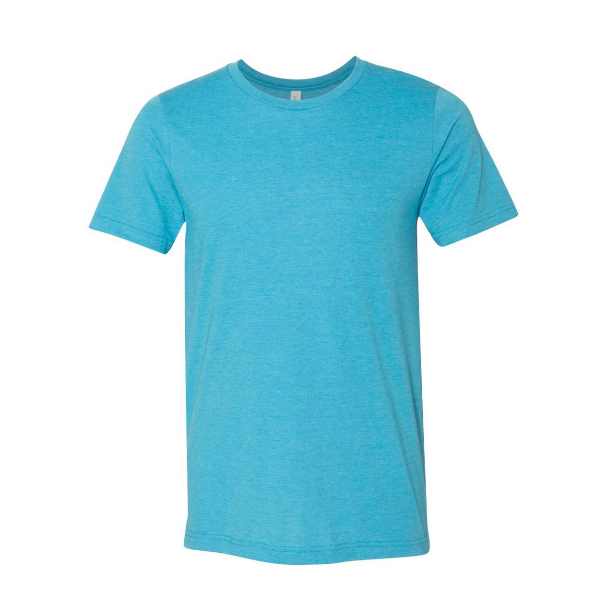 Aqua heather bella shirt