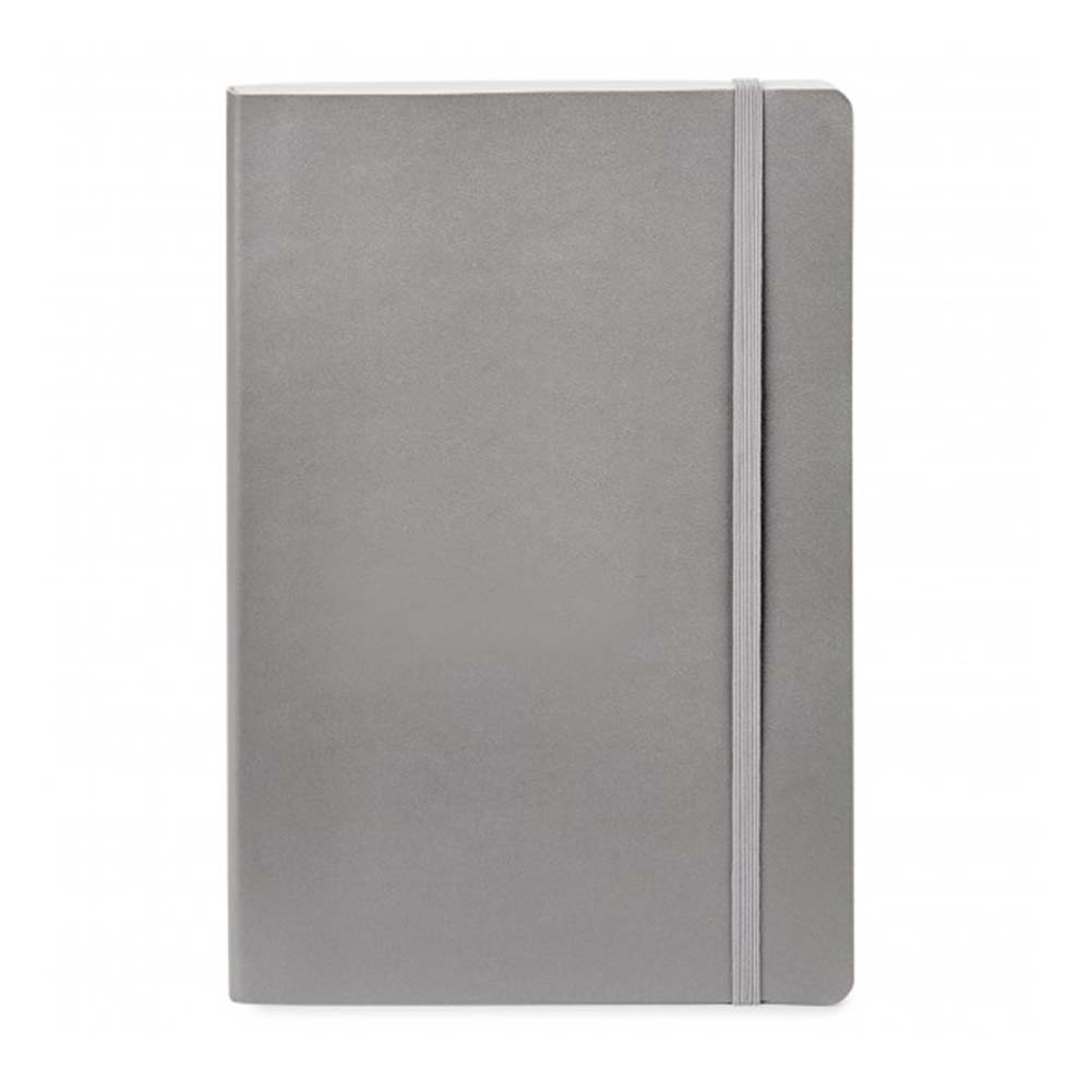 Gray sparrow softcover notebook