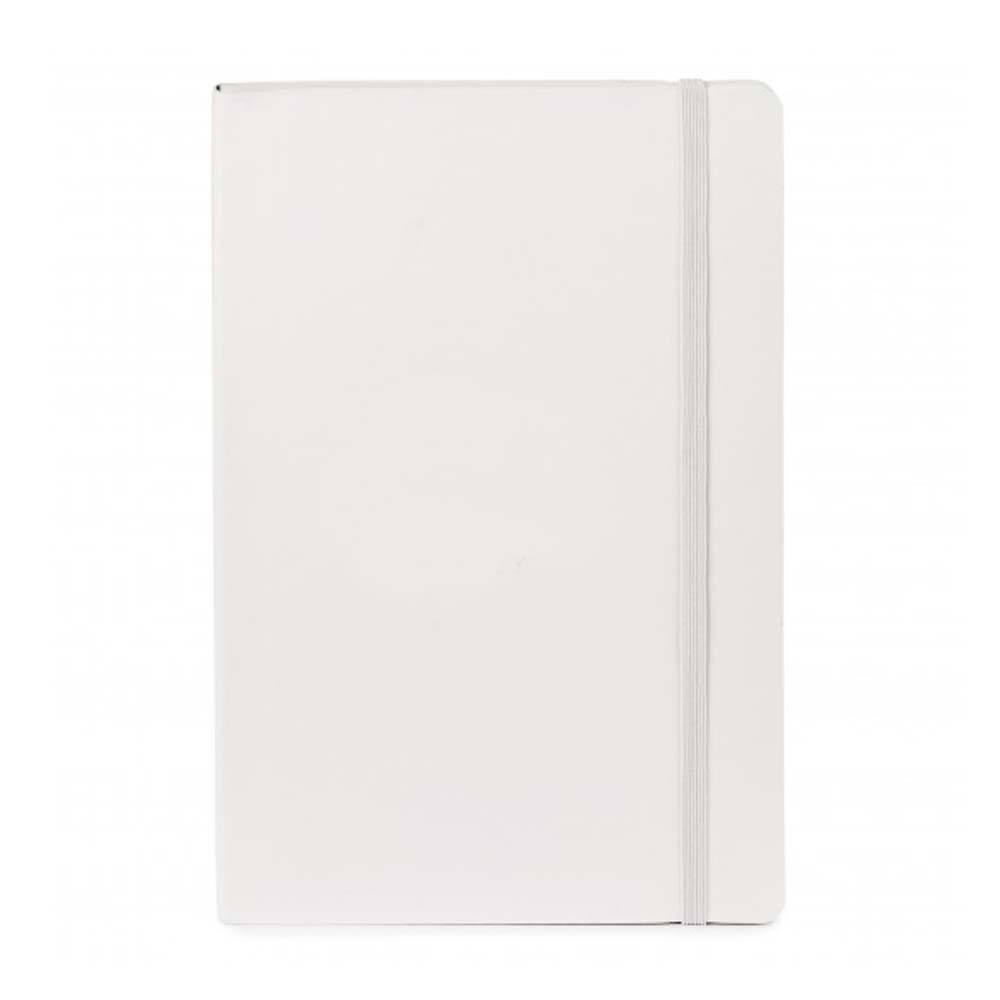 White sparrow softcover notebook