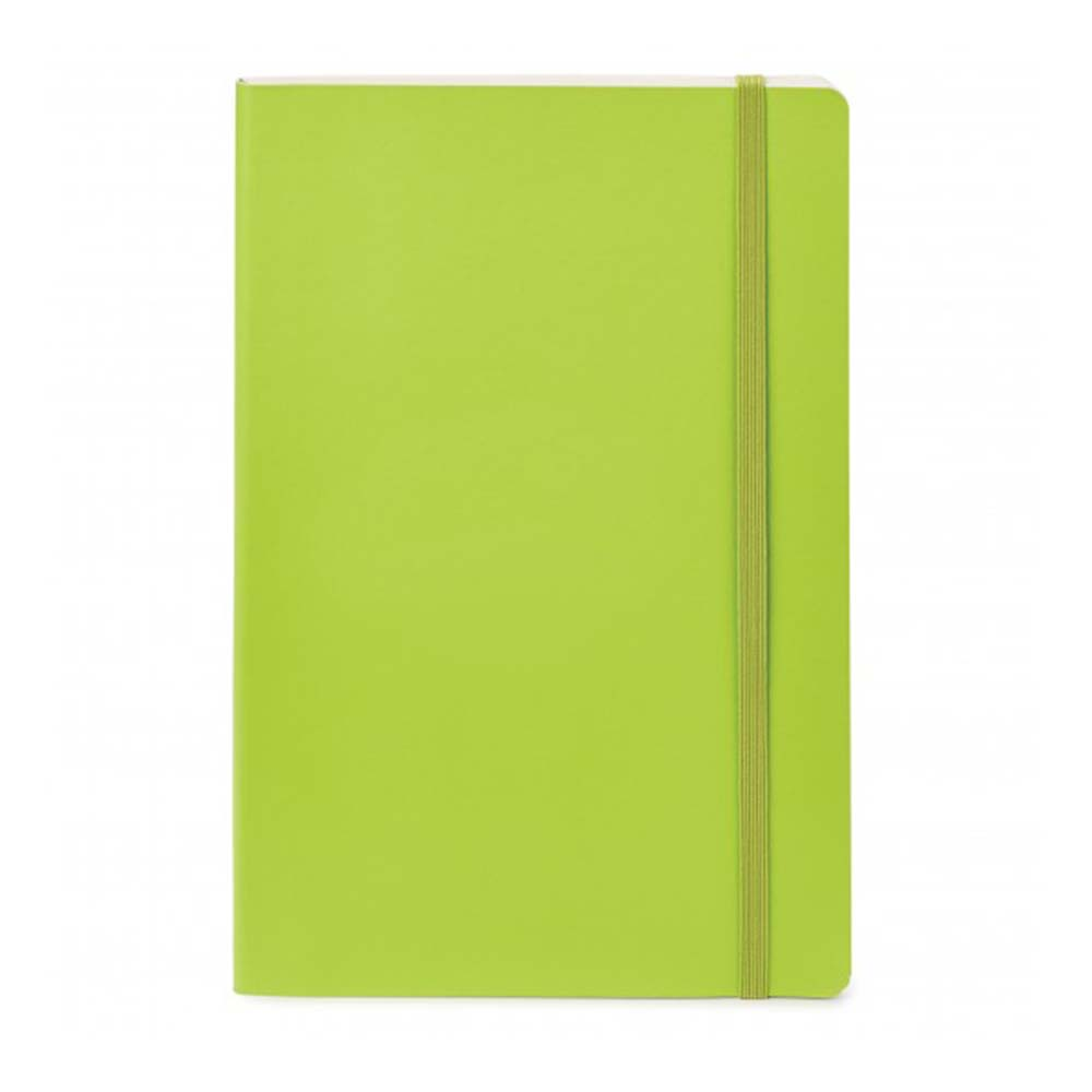 Lime sparrow softcover notebook