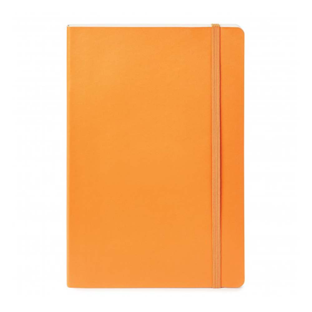 Orange sparrow softcover notebook