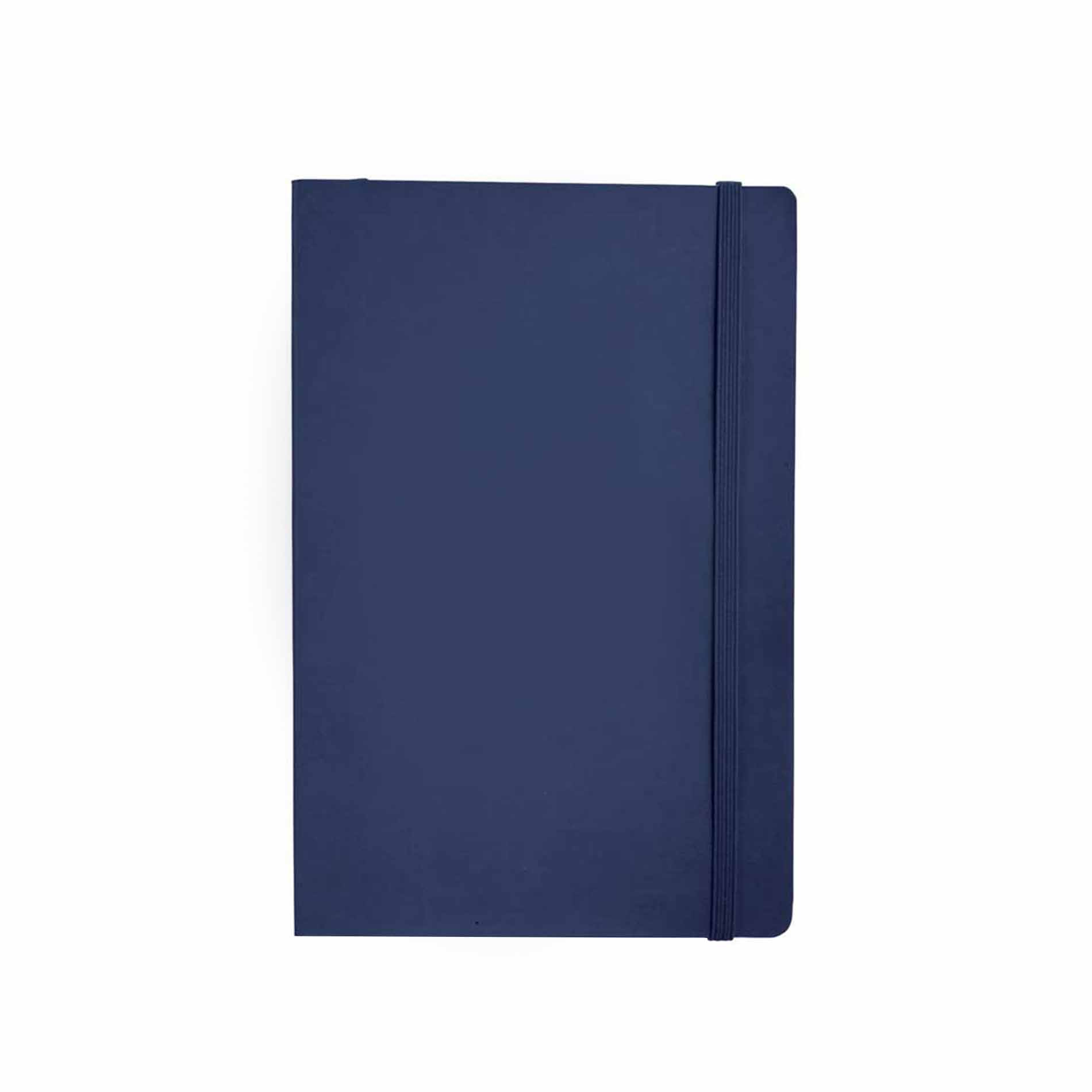 Navy notebook softcover