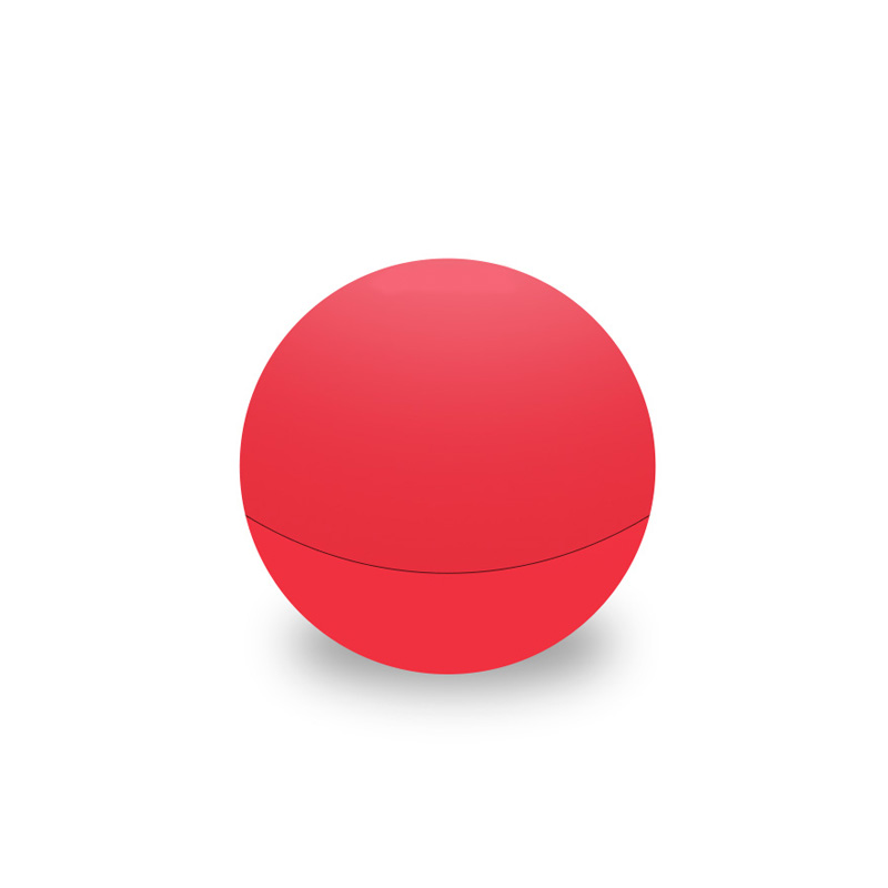 Red round lipbalm
