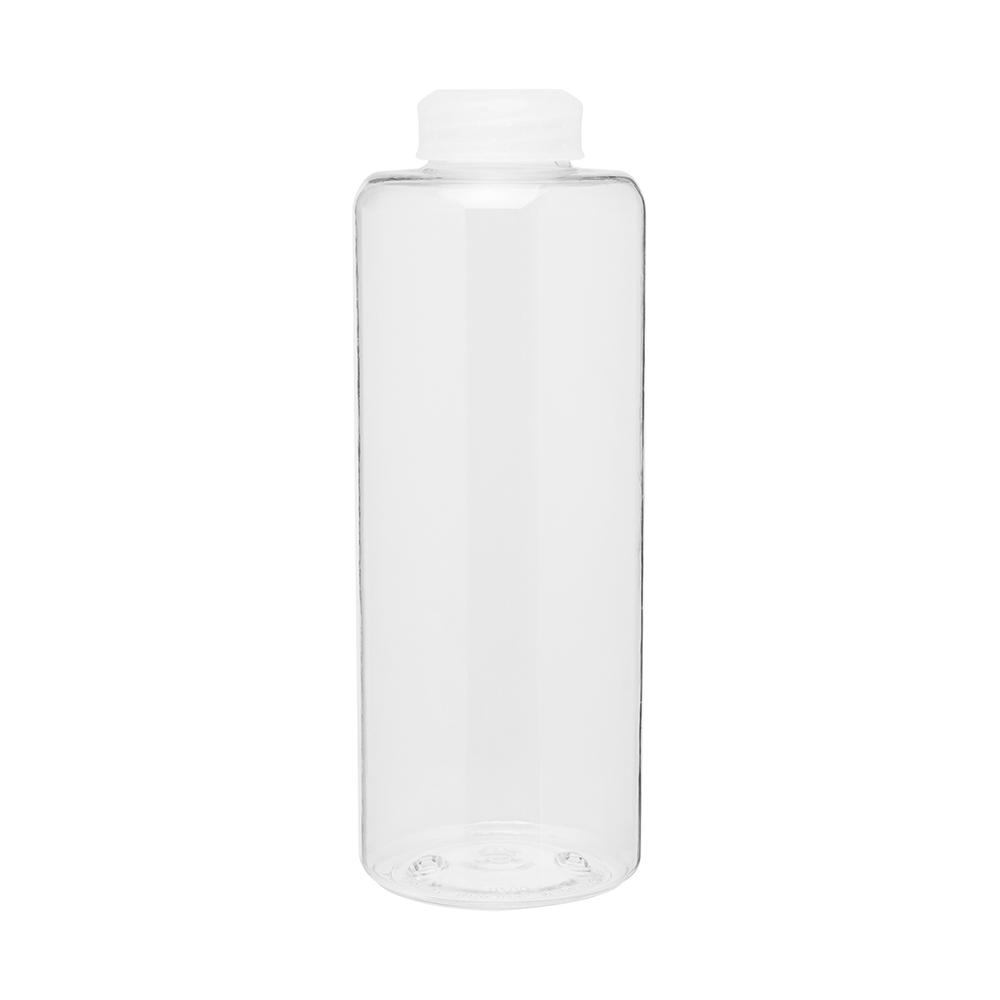 Clear malaga bottle