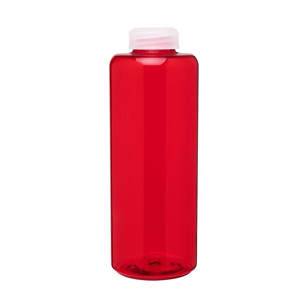 Red malaga bottle