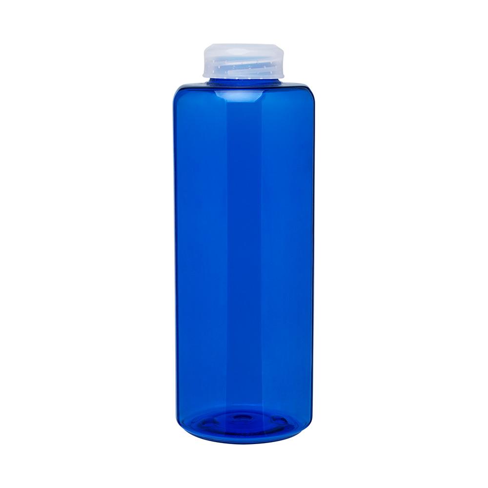 Blue malaga bottle