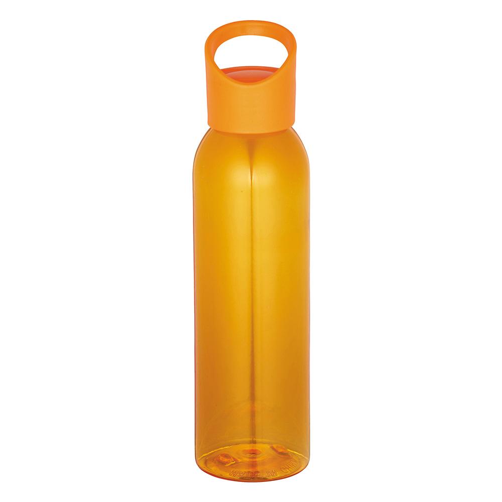 Orange transient bottle