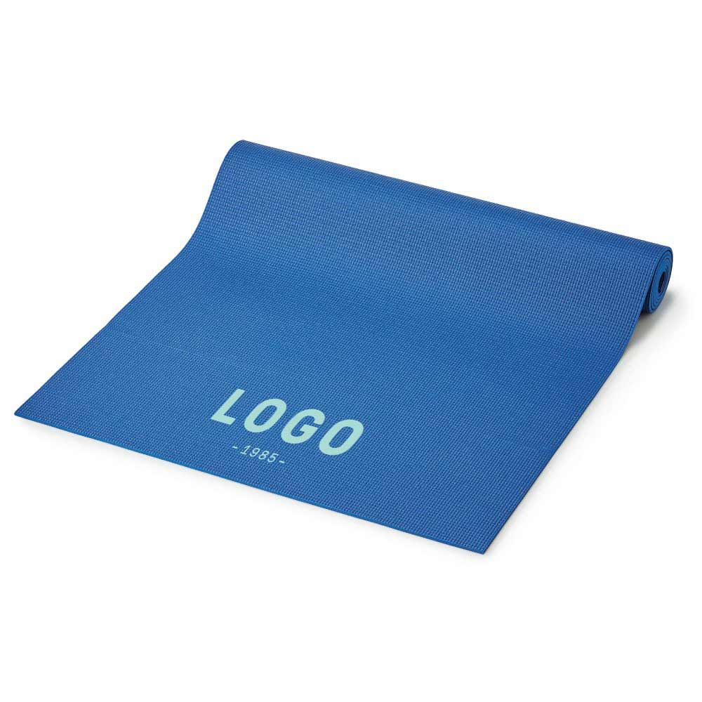 130275 hatha yoga mat one color imprint