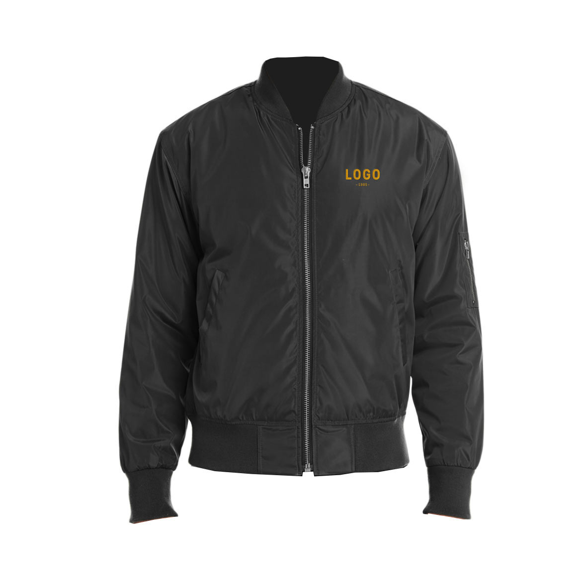 130204 bomber jacket embroidered up to 8k stitches
