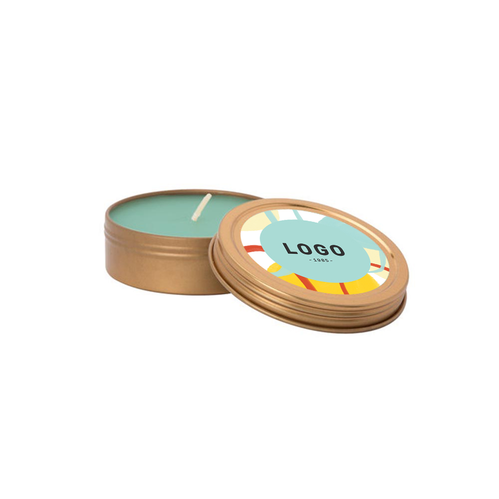 130197 small essential oil candle with lid full color digital label