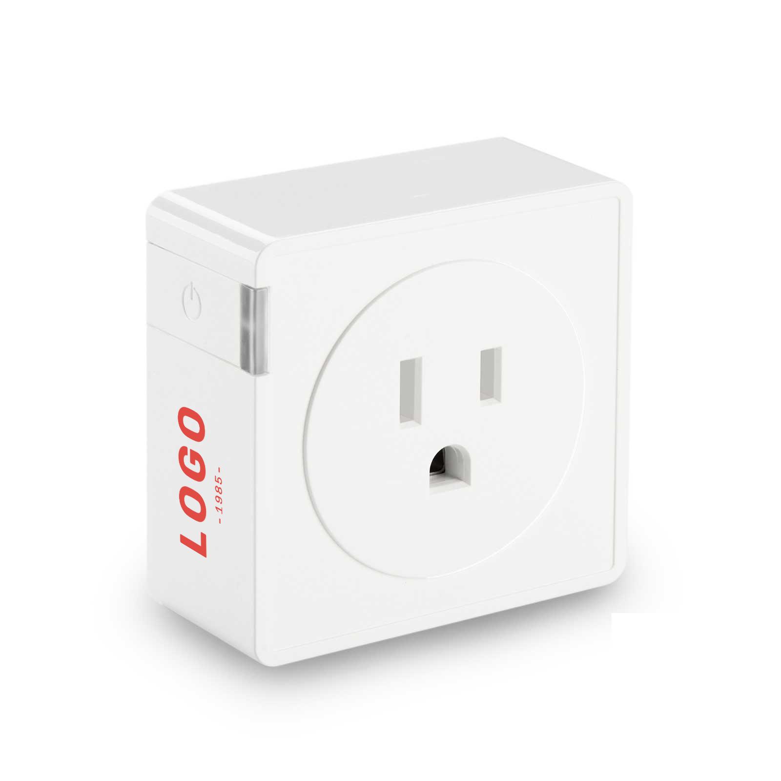 130183 genius smart plug one color imprint