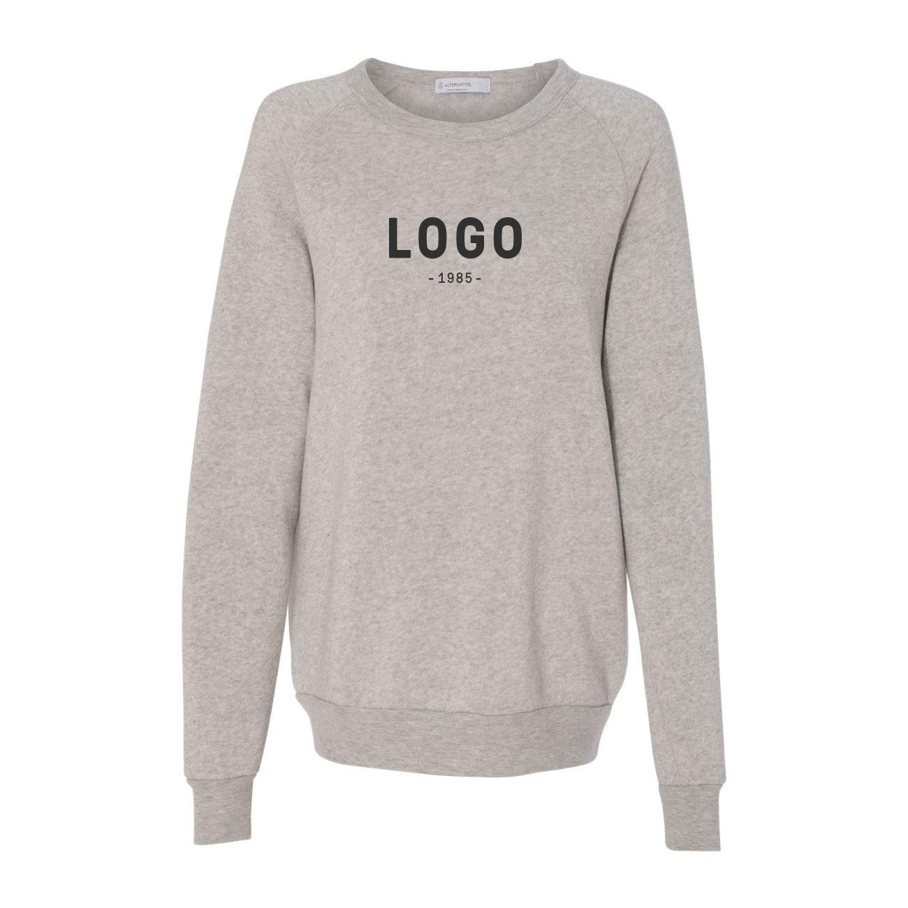 122733 champ crewneck sweatshirt one color one location imprint