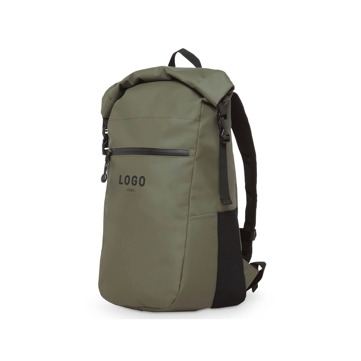 122713 forager backpack one color one location imprint