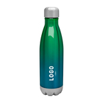 Medium 122690 sunset ombre bottle one color one location imprint