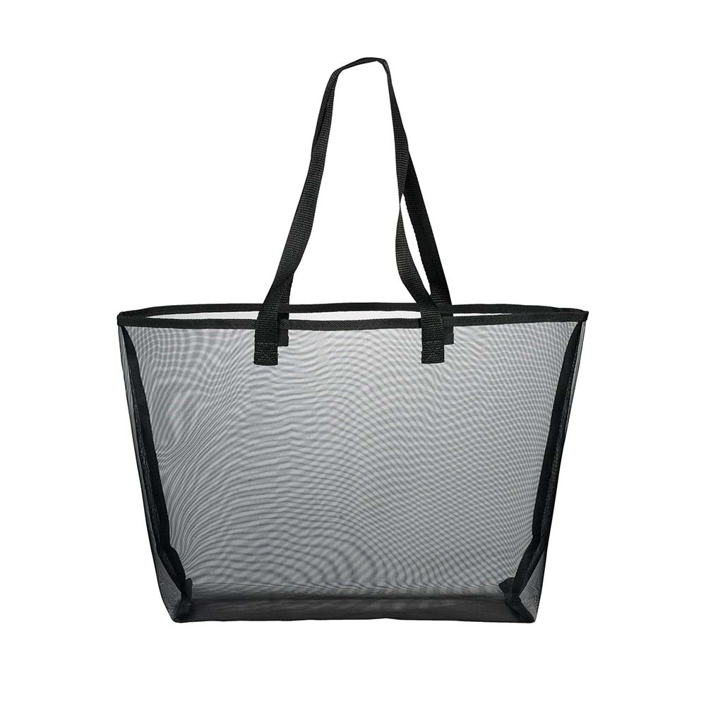 Mesh shopper black