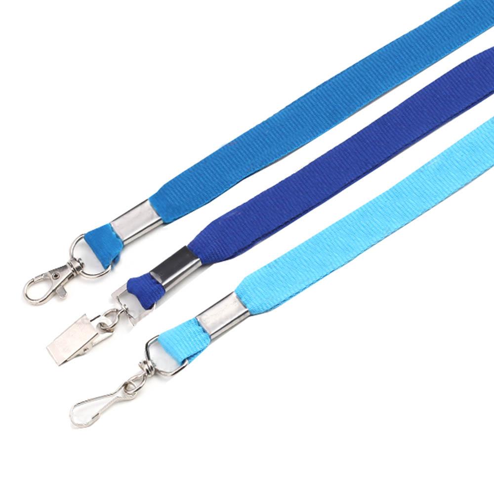 Blue lanyards
