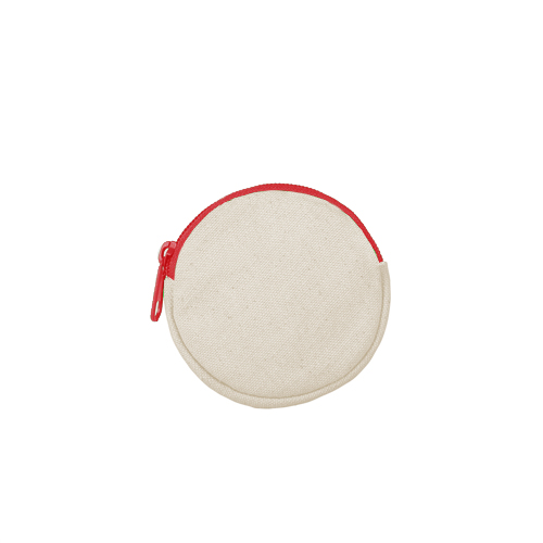 Round pouch red