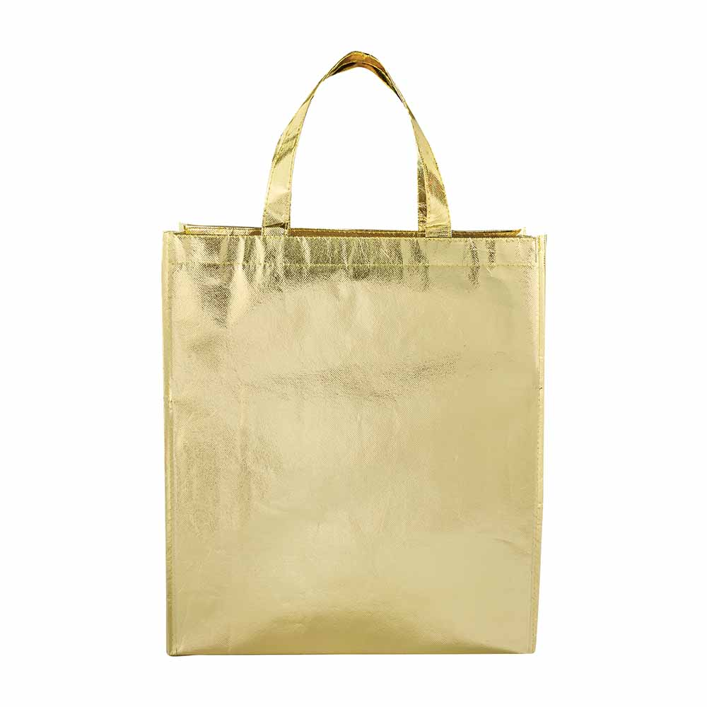 Gold metallic tote starlight
