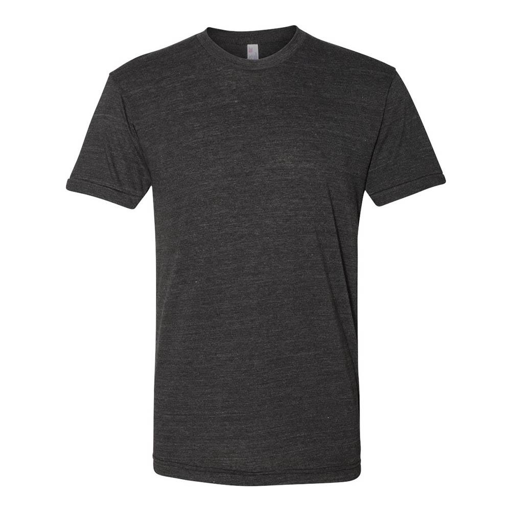 Charcoal triblend mens tshirt