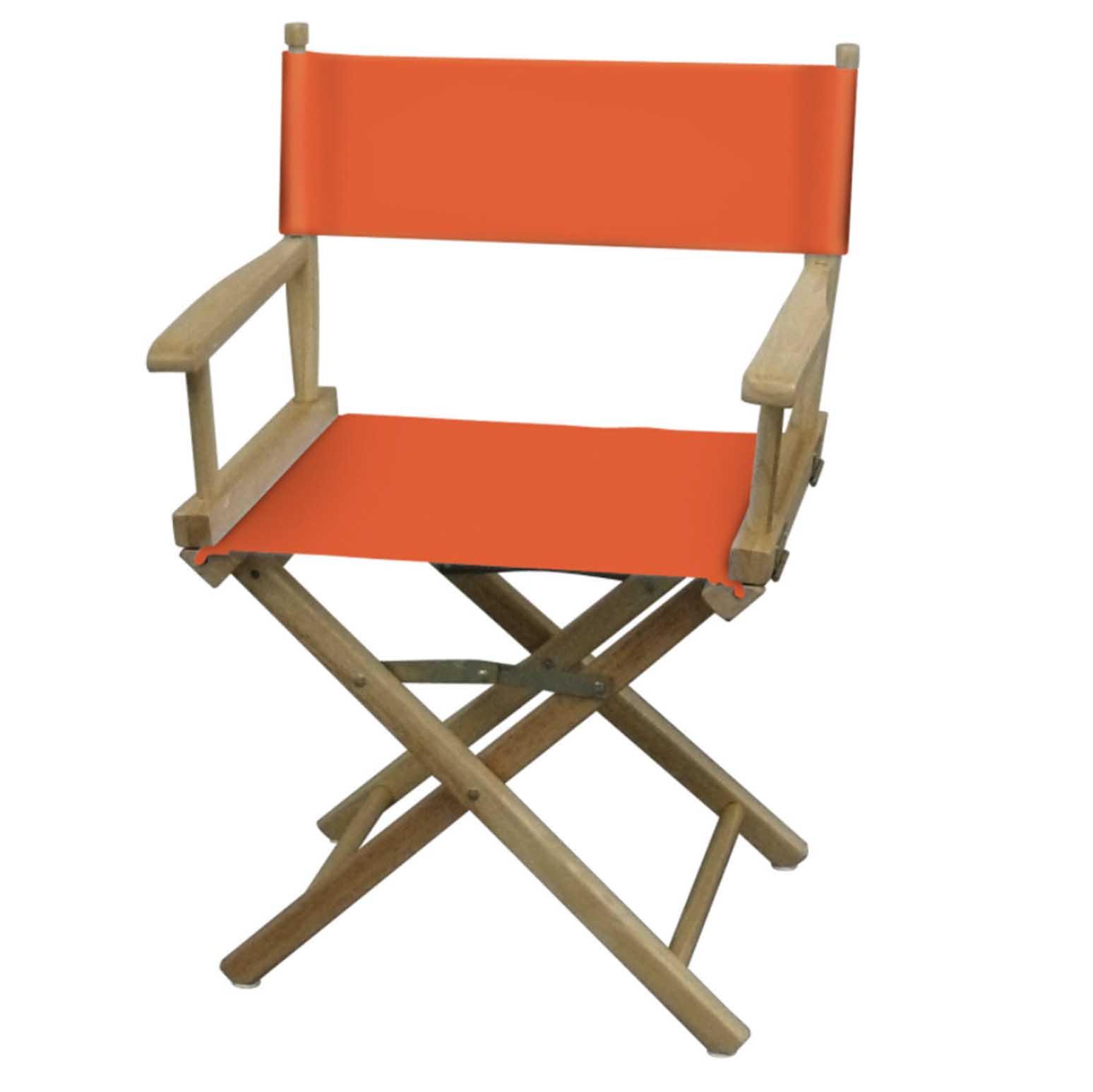 Orange directors chair