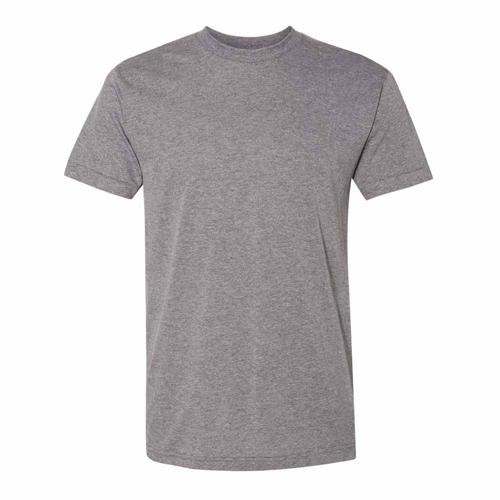 Gray triblend mens tshirt