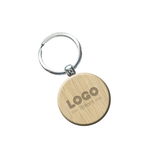 Medium 137890 rustic keychain laser engraved front and back