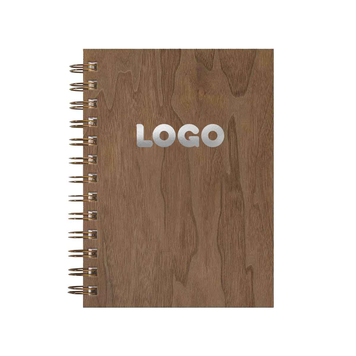 137888 into the woods spiral notebook one location foil imprint