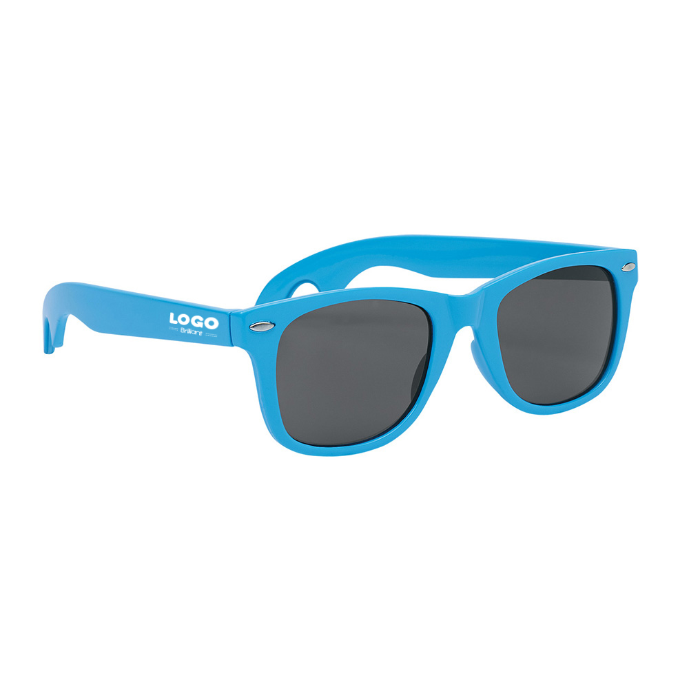 137874 bottle opener classic sunglasses one color imprint on both arms