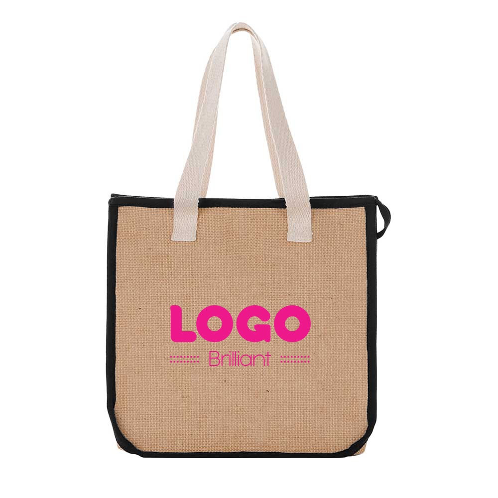 137873 low tide insulated grocery tote one color one location imprint