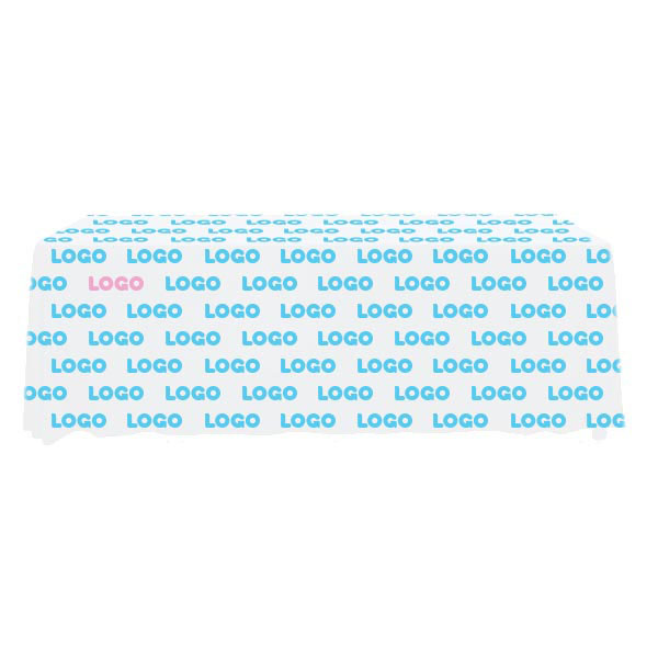 137203 radiant tablecloth full color full bleed digital imprint