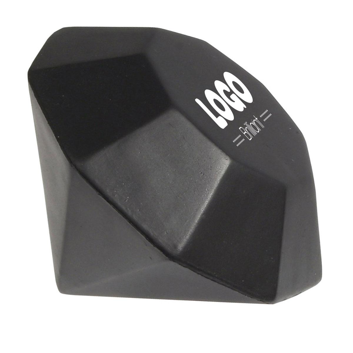 134886 diamond stress reliever one color imprint