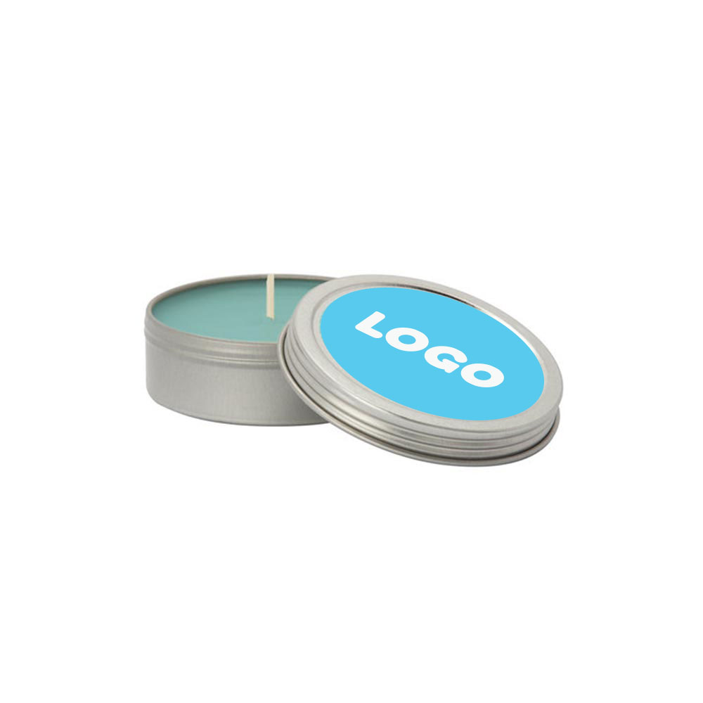 134868 small essential oil candle with lid full color digital label