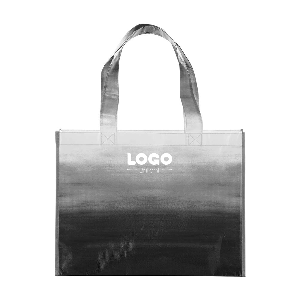 134814 watercolor tote one color one location imprint