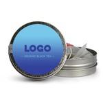 Medium 134792 mini tea tin full color label