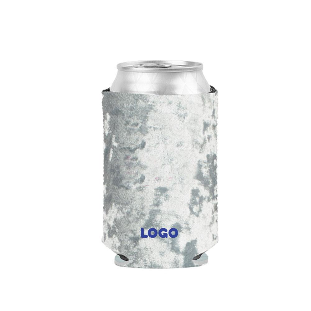 134772 velvet koozie one color one location imprint