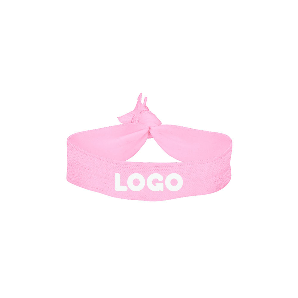 134766 elastic hair tie one color one location imprint