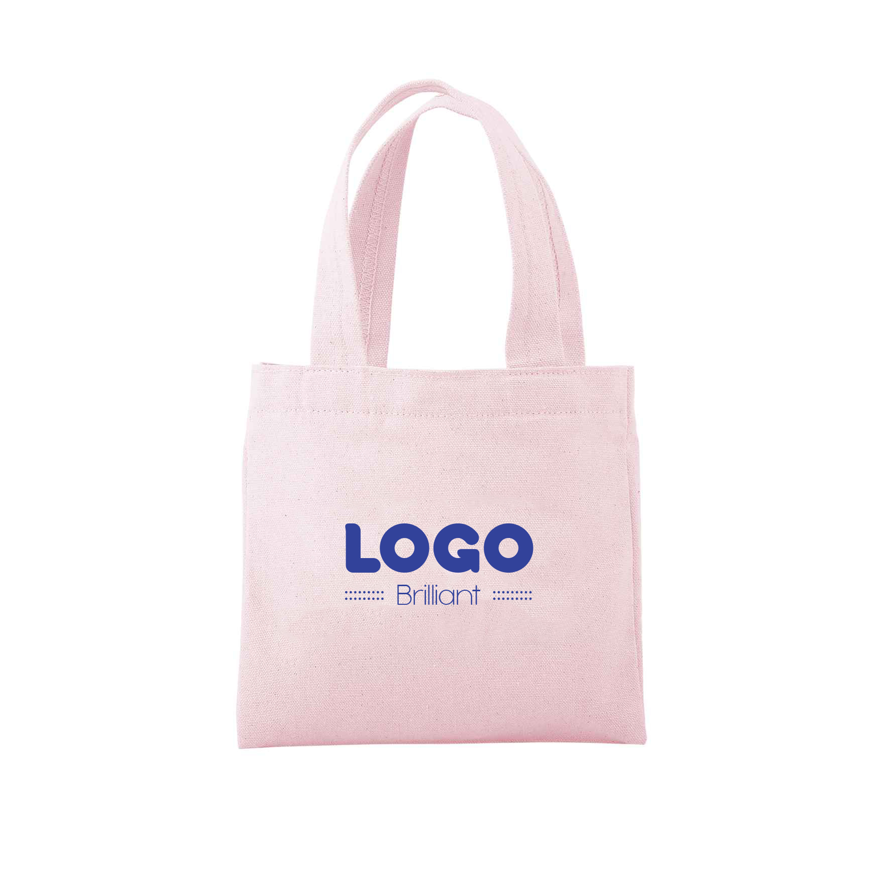 134751 teeny tote one color imprint full bleed choice of canvas color
