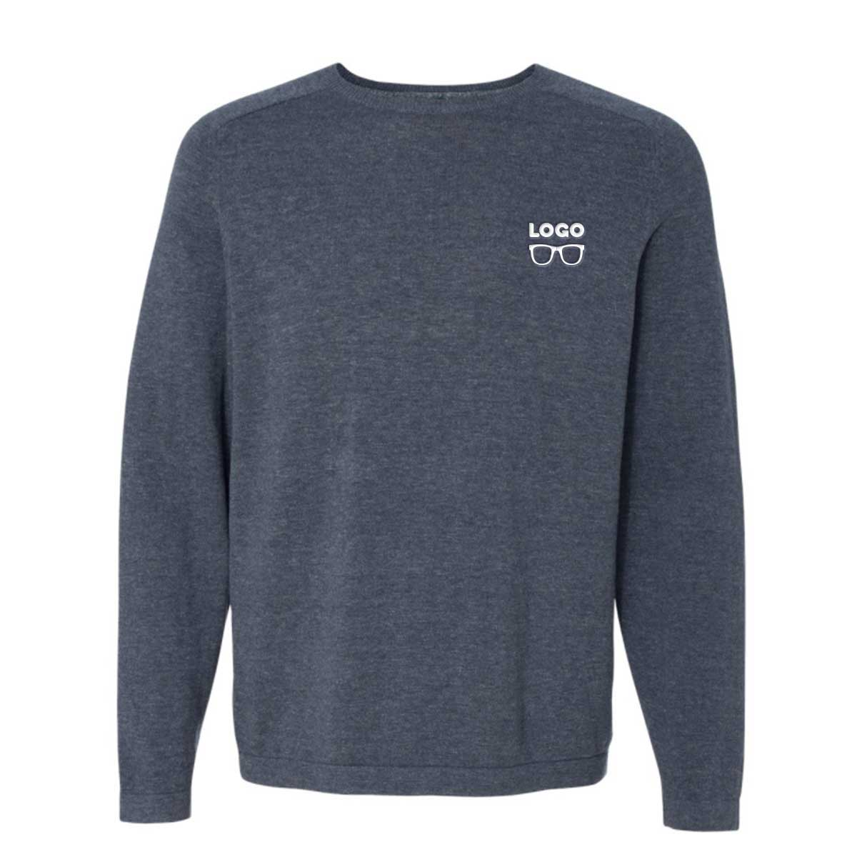 Brilliant crewneckcottonsweater denim