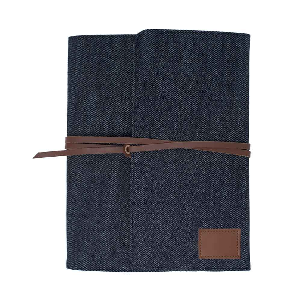 Denim wrap organizer
