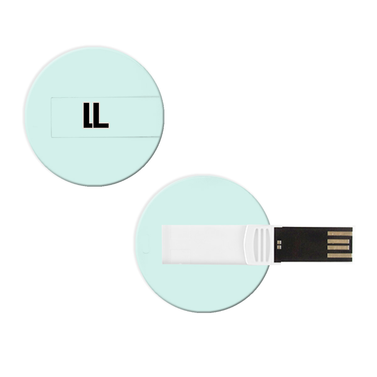 148060 flat circle usb 1gb full color bleed