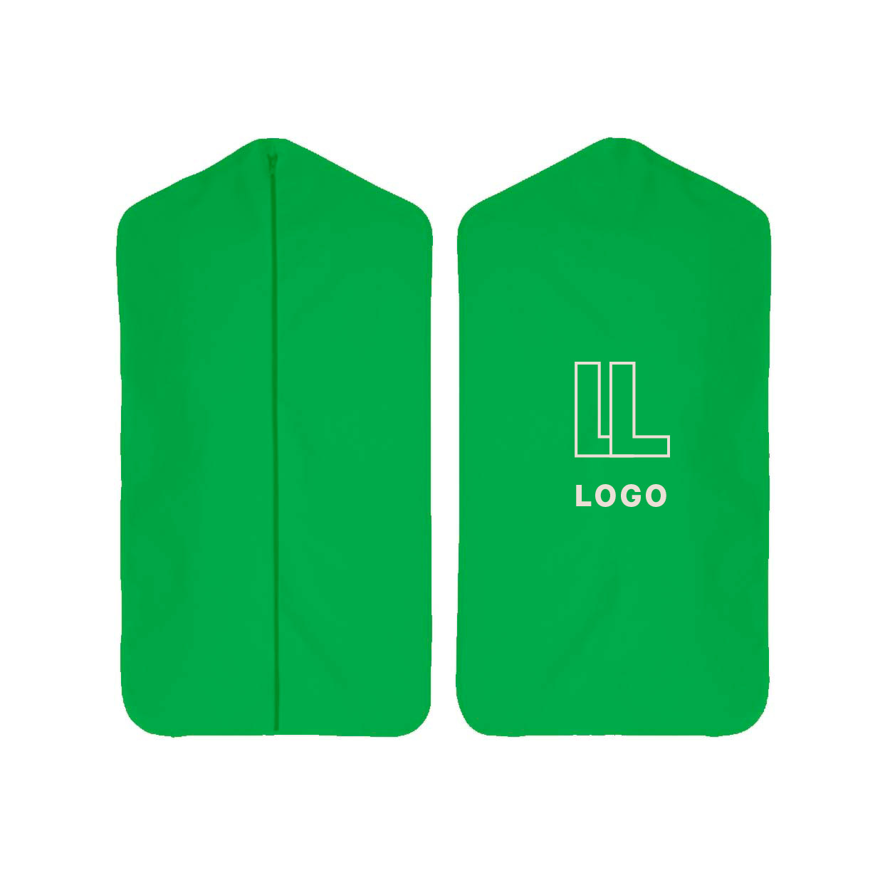 148031 colored canvas garment bag one color one location imprint