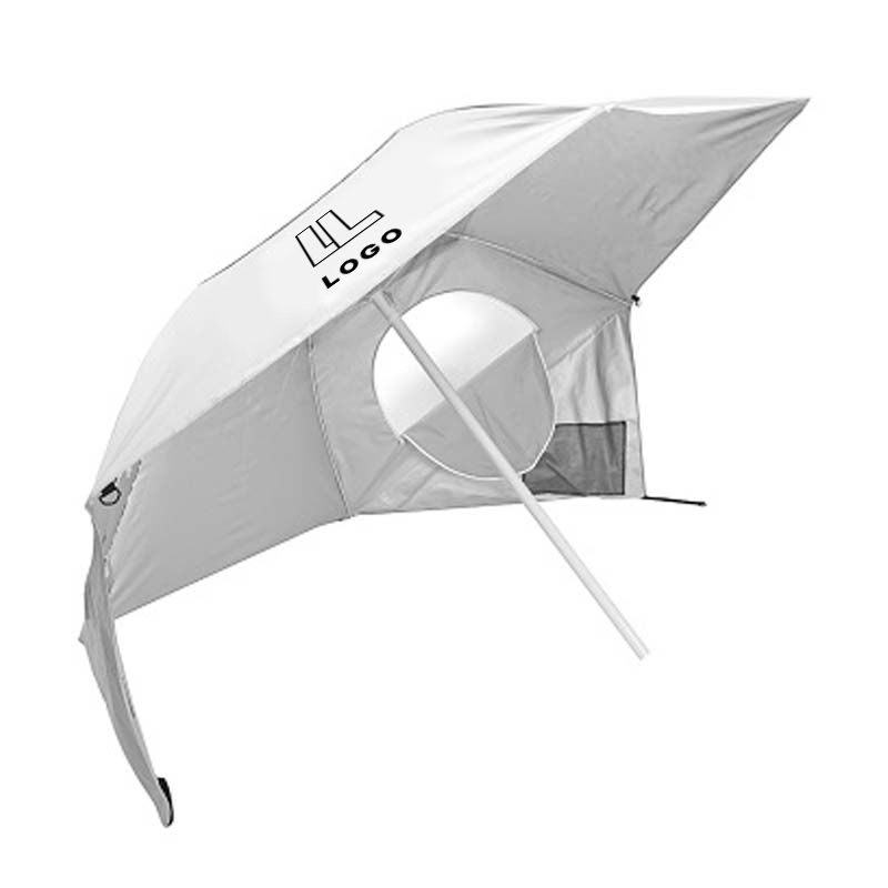 146688 sun shade one color imprint one location