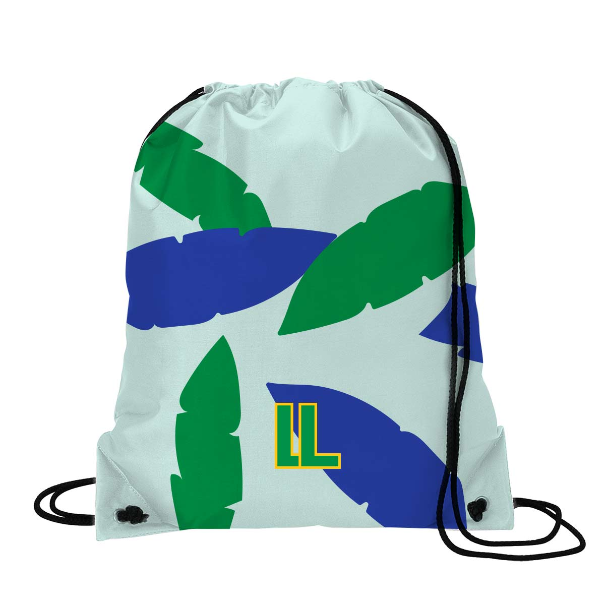 146642 radiant drawstring backpack full color digital imprint