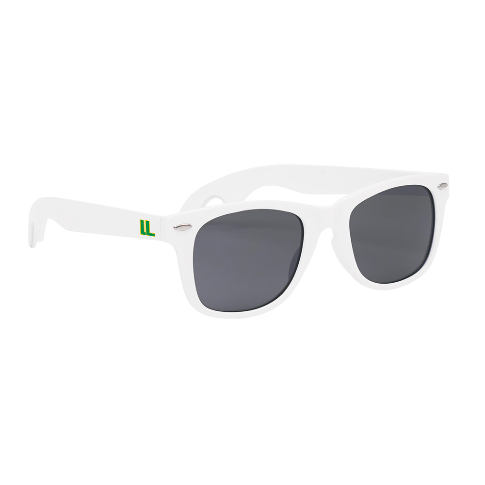 137961 bottle opener classic sunglasses one color imprint on both arms