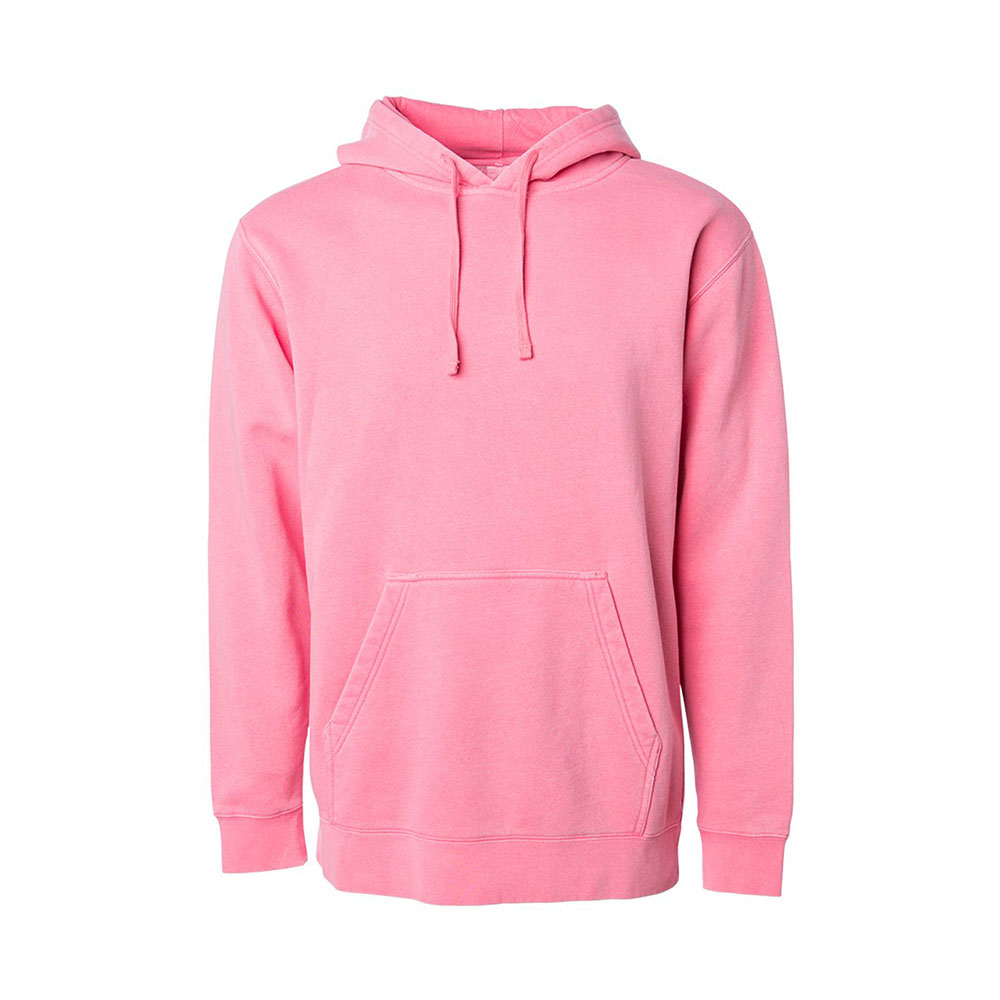 Pink black pig dyed ind